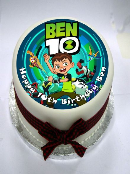 Ben 10 (option 2) Edible Cake Topper